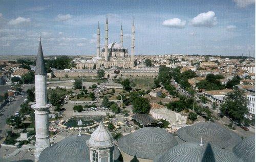 La Mezquita de Selim es carecterística de Edirne.