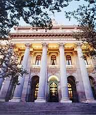 Palacio de la Bolsa de Madrid, España