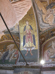 Mosaicos en Santa Sofía, Estambul