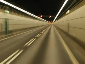 Tunel carretero