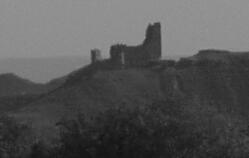 Castillo de la Raya en el Horizonte - Monteagudo de las Vicarias