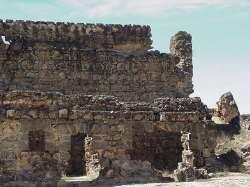 Ruinas del interior del castillo