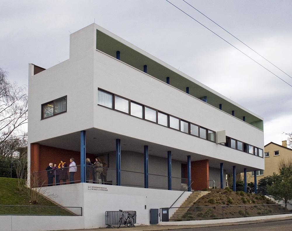 Vivienda doble en la colonia weissenhof urbipedia for Vivienda arquitectura