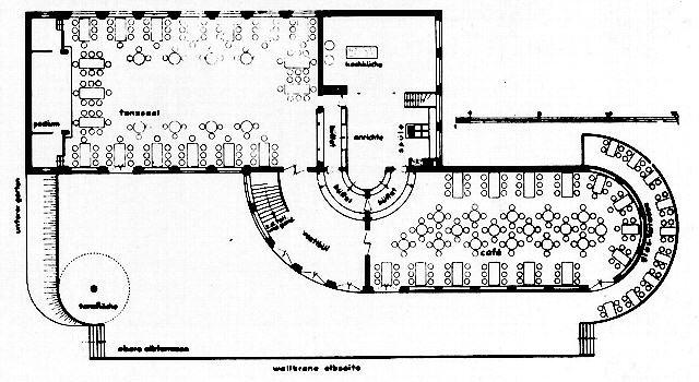 Restaurante kornhaus urbipedia archivo de arquitectura for Planos para restaurantes
