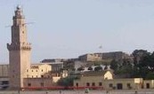 Vista de la Torre de Porto Pí y el Castillo de San Carlos al fondo
