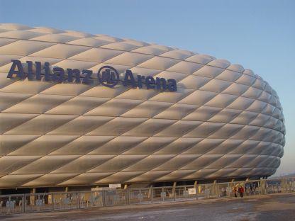 Cubierta Estadio Olímpico en Munich, Alemania