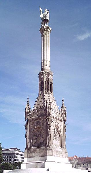 Archivo:Monumento a Colón (Madrid) 01.jpg