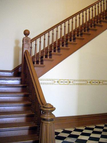 Escalera En L Urbipedia Archivo De Arquitectura