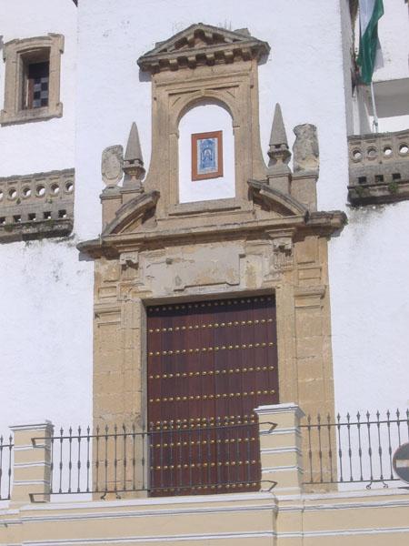 Archivo:Sanlúcar.Iglesia de la caridad.Portada.JPG