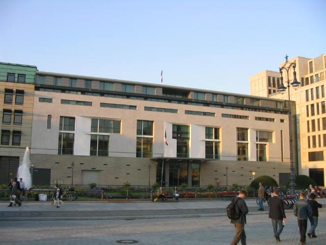 Archivo:Französische Botschaft Pariser Platz Berlin.jpg