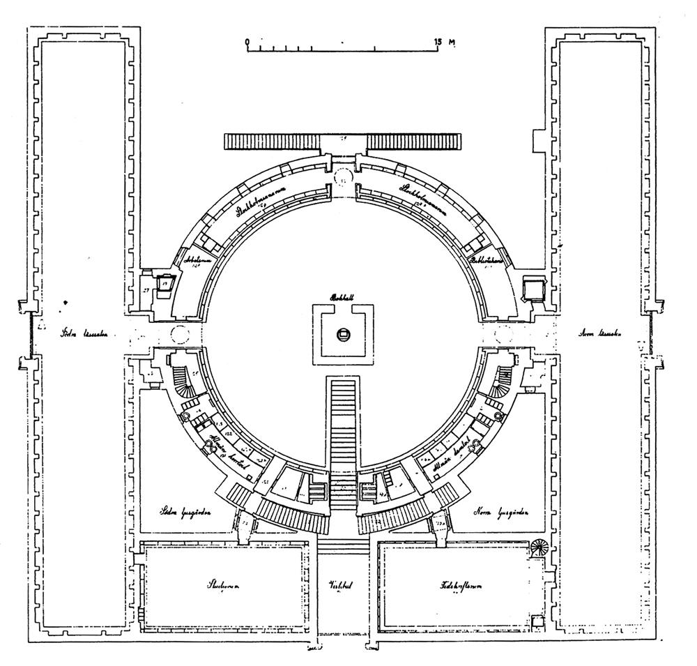 Arte cercano blog de arte y arquitectura biblioteca for Planta arquitectonica biblioteca