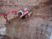 Trabajos para cimentaciones en terreno