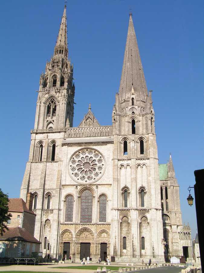 Catedral de Chartres - Urbipedia - Archivo de Arquitectura