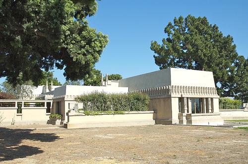 Casa barnsdall urbipedia archivo de arquitectura for Frank lloyd wright casa della prateria