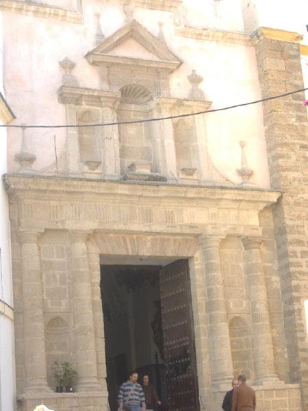 Archivo:Cádiz. Iglesia de Santa María. Detalle.JPG