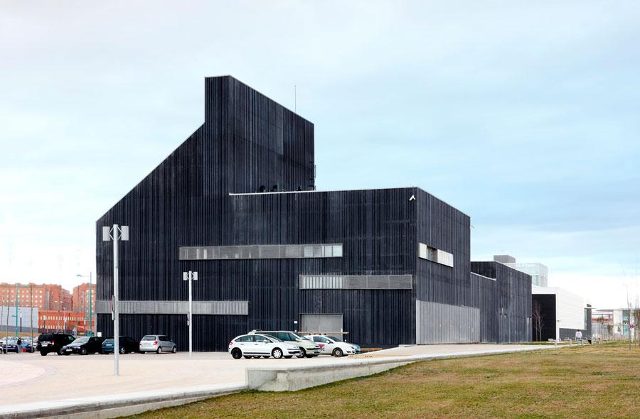 Central de energ a en ranillas zaragoza urbipedia - Arquitectos en zaragoza ...
