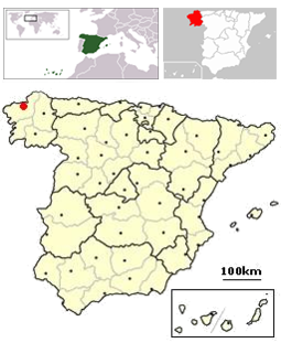 255px-La Coruna, Spain location3.png
