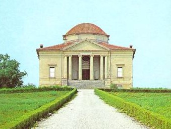 "Villa Pisani, llamada ""Rocca Pisani"" ,Vincenzo Scamozzi, 1576"