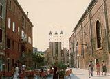 Puerta de acceso a la Muestra de Arquitectura de la Bienal de Venecia (1980)