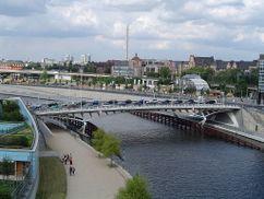 Kronprinzen Bridge, Berlín, Alemania. (1991-1996)