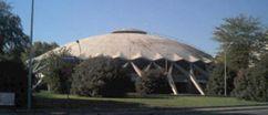 Palacete de deportes, Roma (1956-1960) junto con Annibale Vitellozzi.
