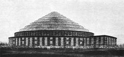 Proyecto de Palacio de deportes en Berlín (1927)