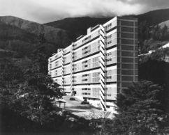 Unidad de habitación Cotiza, Cerro Piloto, Caracas (1952-1954), junto con Carlos Raúl Villanueva y Carlos Brando.