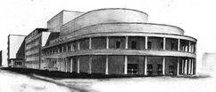 Proyecto de Conservatorio en Estambul (1935-1936)