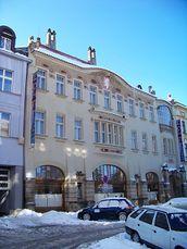 Hotel Okresní, Hradec Králové, (1903-1904)