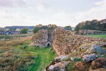 Antiguo castillo de Bolingbroke, hoy en ruinas