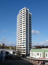Edificio de apartamentos en Neue Vahr, Bremen, Alemania (1958-1962)