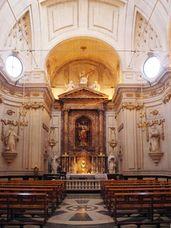 Capilla de la Comunión, iglesia de Santa María de la Asunción, Elche (1778-1784)