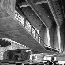 Iglesia de St. John's University, Collegeville, Minnesota (1955-1958)