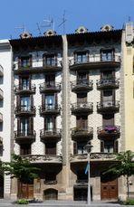 Casas Ruiz Casamitjana, Balmes 158-160, Barcelona (1906)