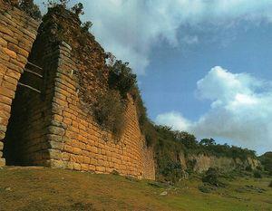 La fortaleza de Kuélap.