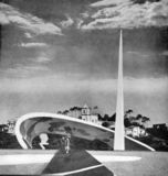 Monumento a Rui Barbosa, Río de Janeiro (1949)