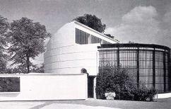Casa de los gorilas.Zoo de Londres (1932-1933)
