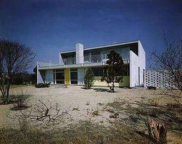 Casa Gilbert Tompkins, Hewlett Harbor, Nueva York (1945)