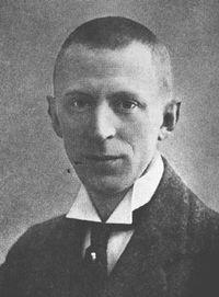 Olaf Nordhagen, cerca de 1910.