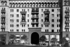 Edificio residencial en la calle Gorki de Moscú. (1938-1939)