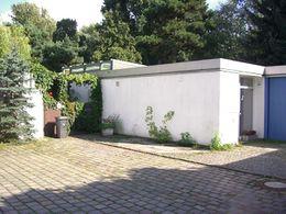 3 viviendas adosadas en Händelallee 43-47, Berlín (1957)