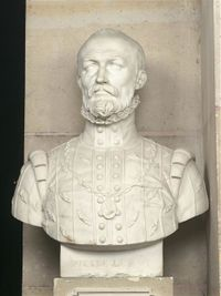 Busto de Pierre Lescot.