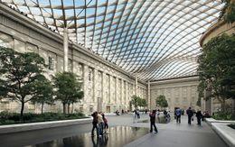 Patio de la Smithsonian Institution, Washington DC (2004-2007)