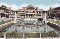 Hotel Imperial, Tokio, Japón.(1915-1922)
