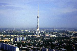 Torre de televisión de Taskent.