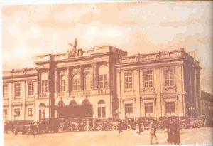 Estación Central del Ferrocarril de la Sabana en 1930