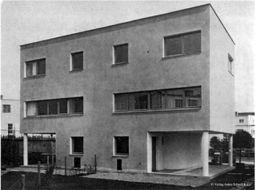 Gabriel Guévrékian: Casas 67 y 68. Woinovichgasse 10 - 12
