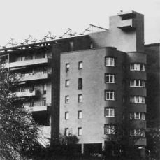 viviendas Iparraguirre, Motrico, Guipúzcoa (1972)