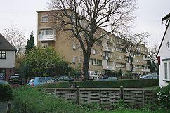 Apartamentos Passfield, Lewisham (1949) junto con Jane Drew.