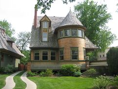 Casa Walter Gale, Oak Park (1893)